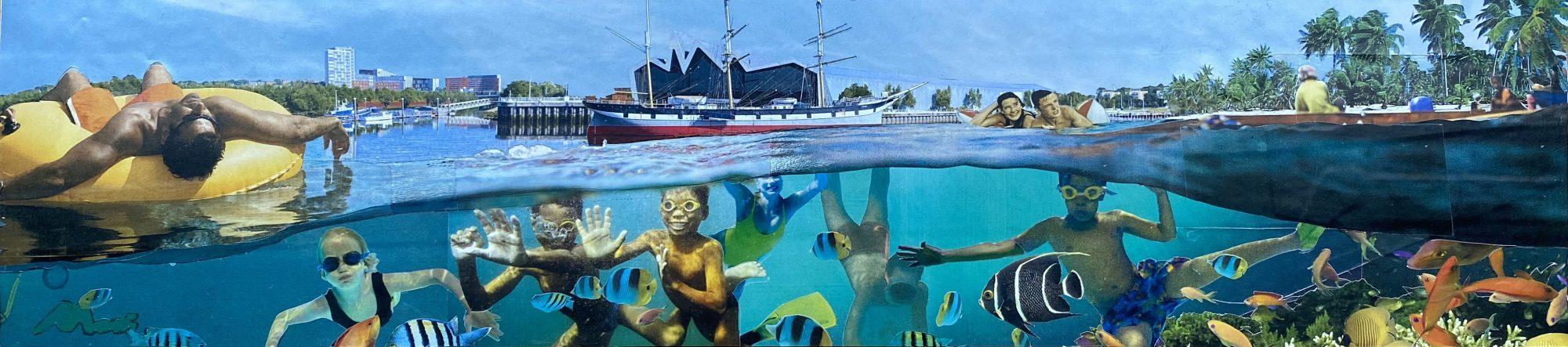 Collage 3, by David Mach RA